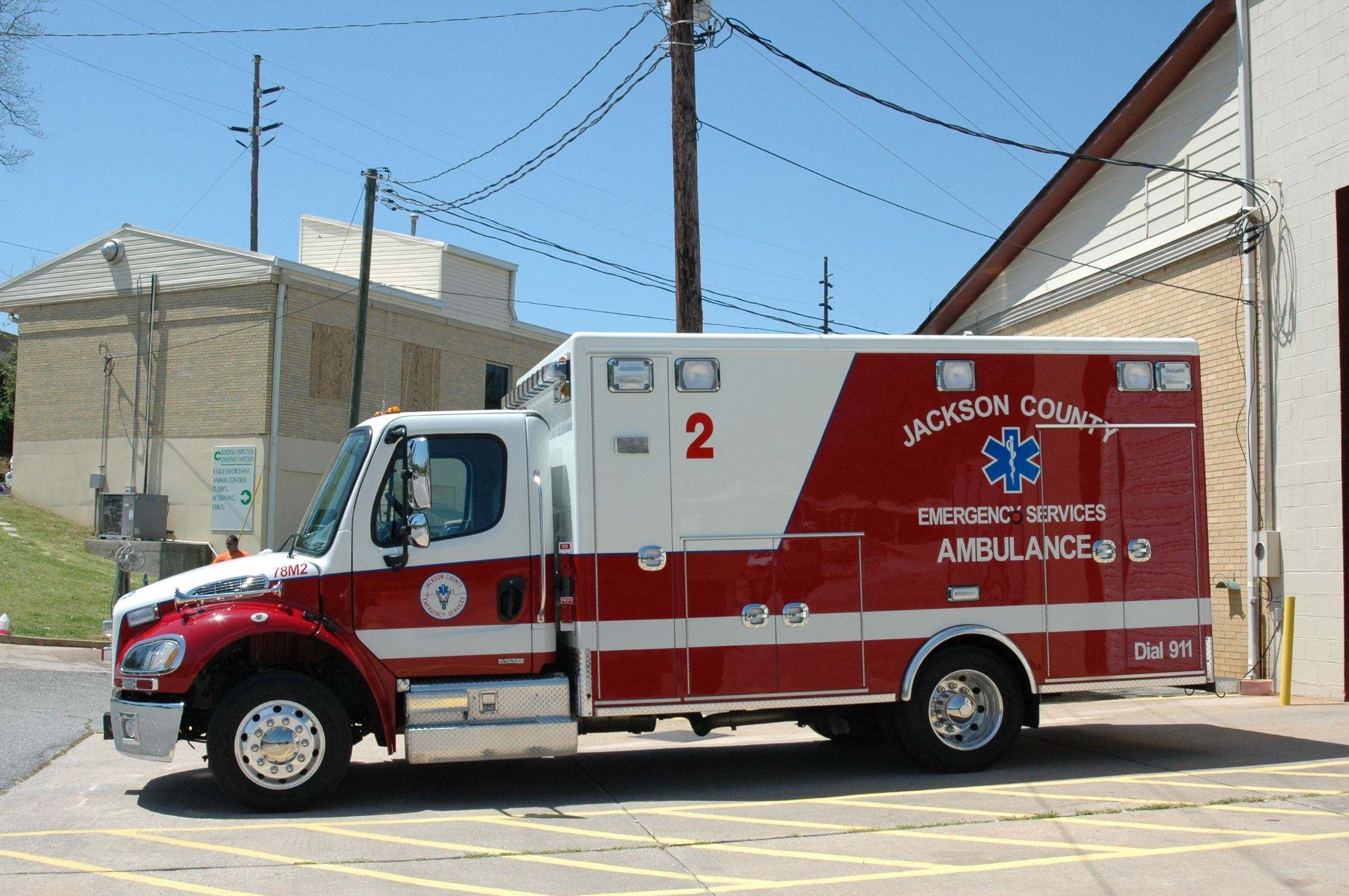 Jackson County Emergency Services Ambulance