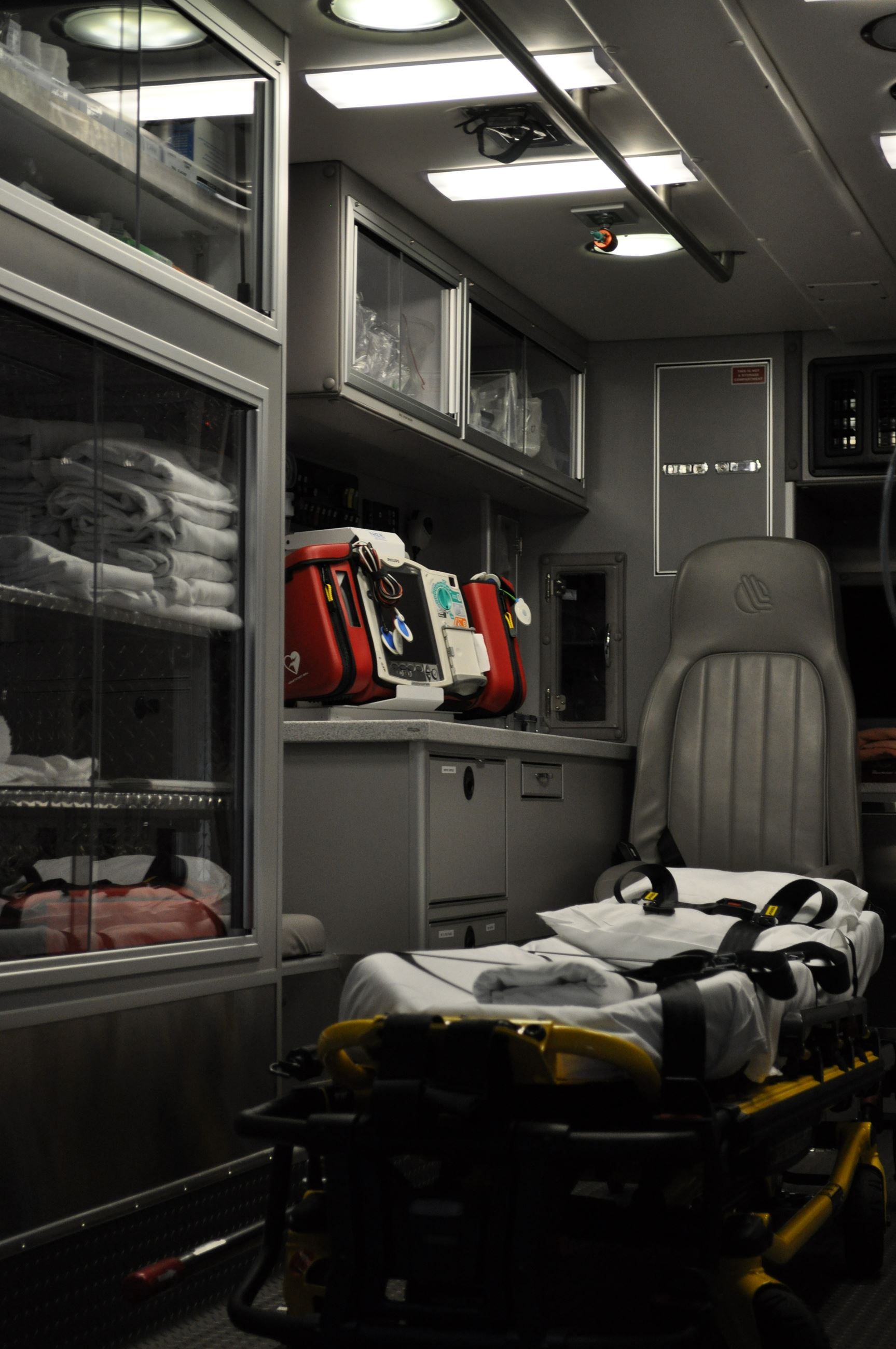 Ambulance Patience Compartment