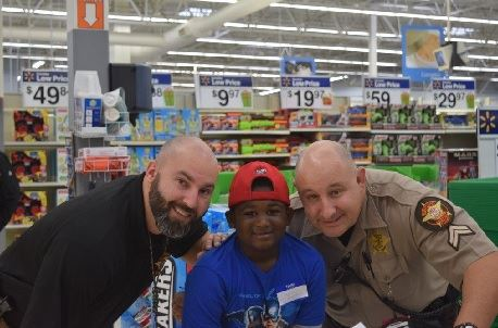 Officers at toy store